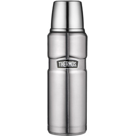 Thermos King Drinkfles 0,5 liter zilver